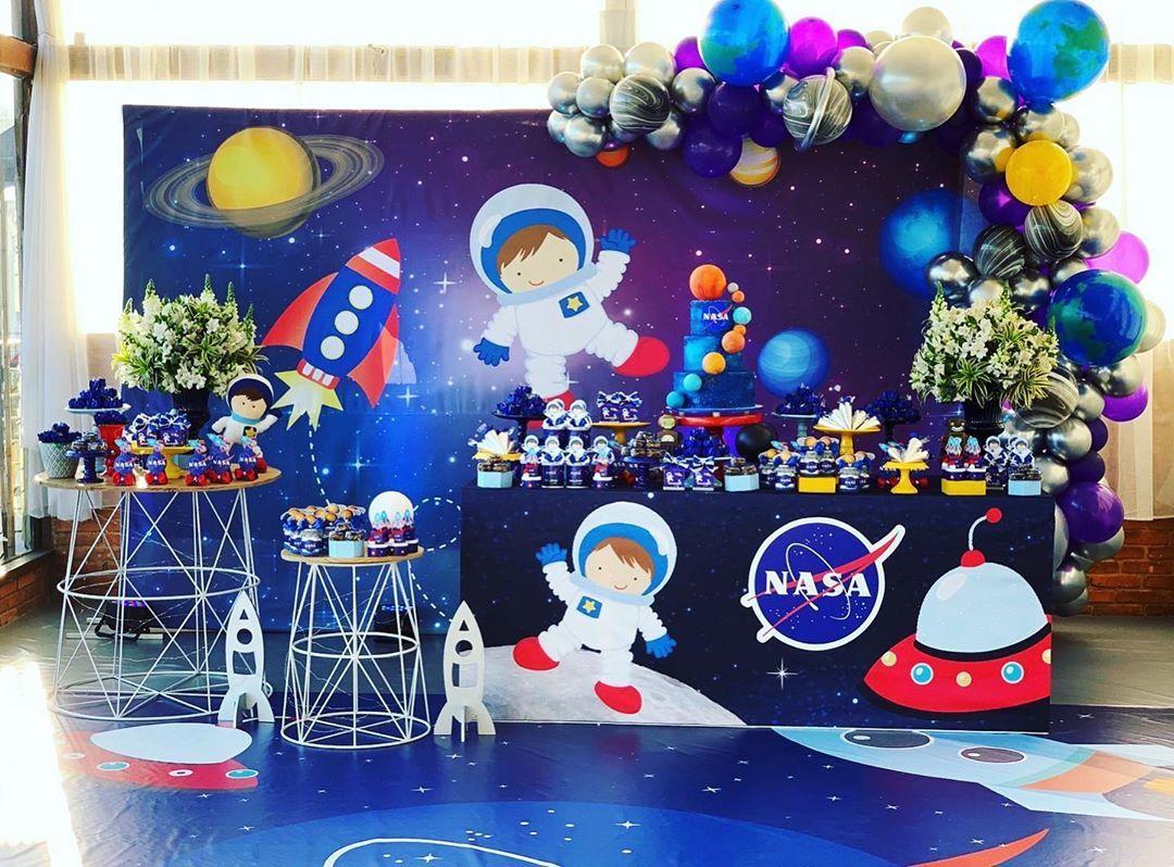 Festa astronauta 1 ano