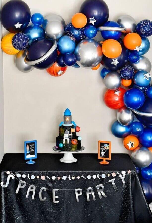 Festa astronauta Ideias