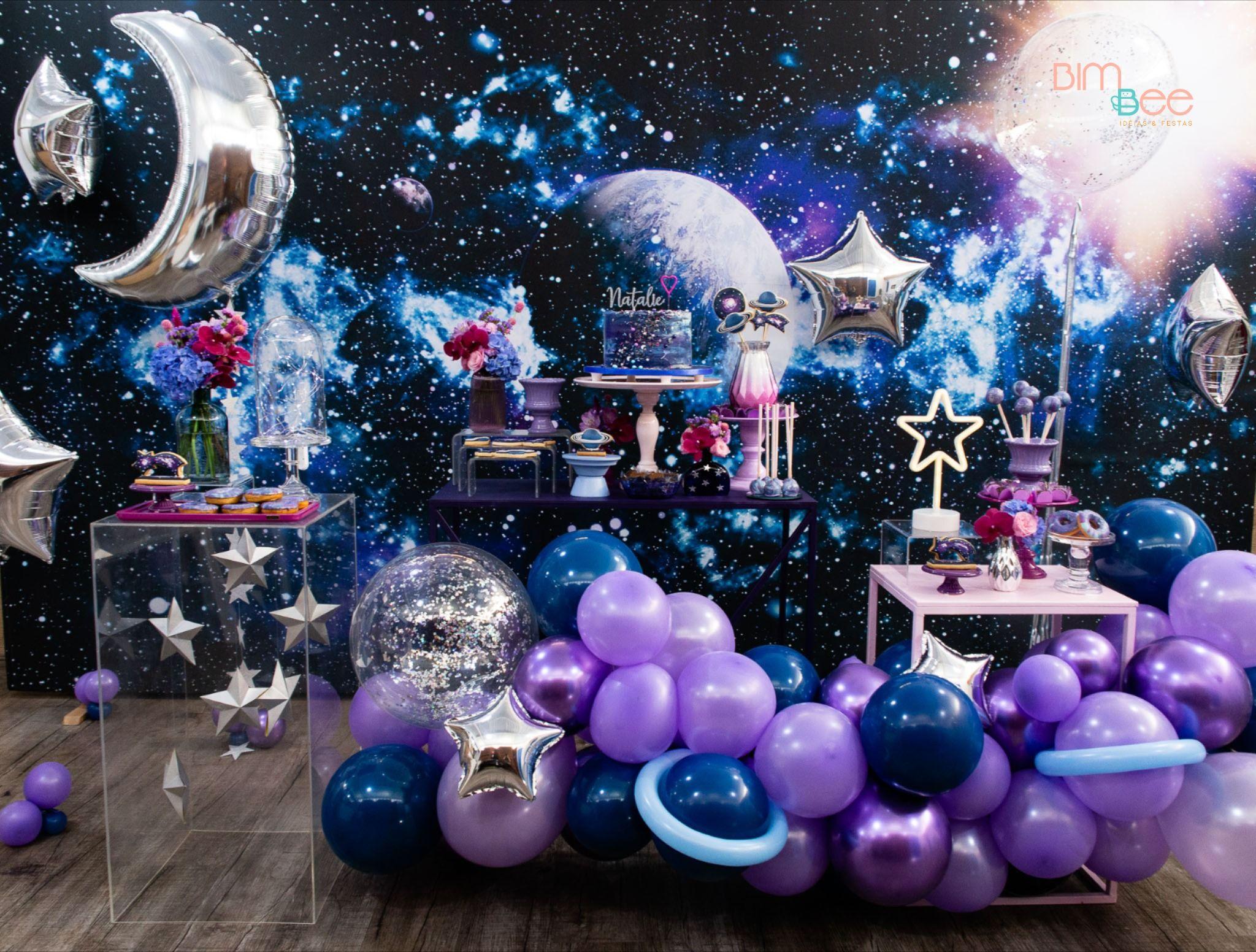 Festa astronauta Luxo