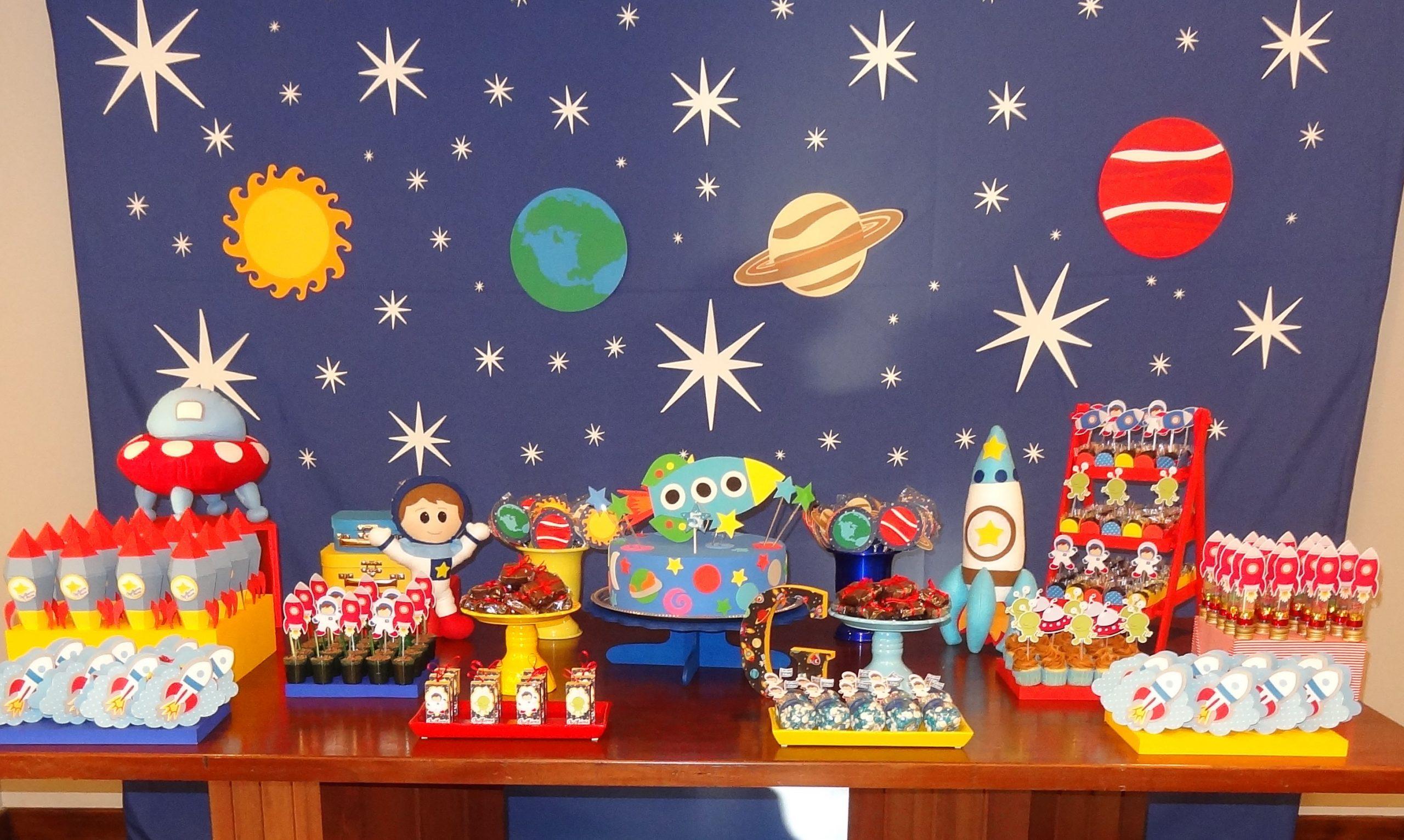 Festa astronauta Painel