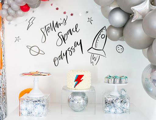 Festa astronauta Simples