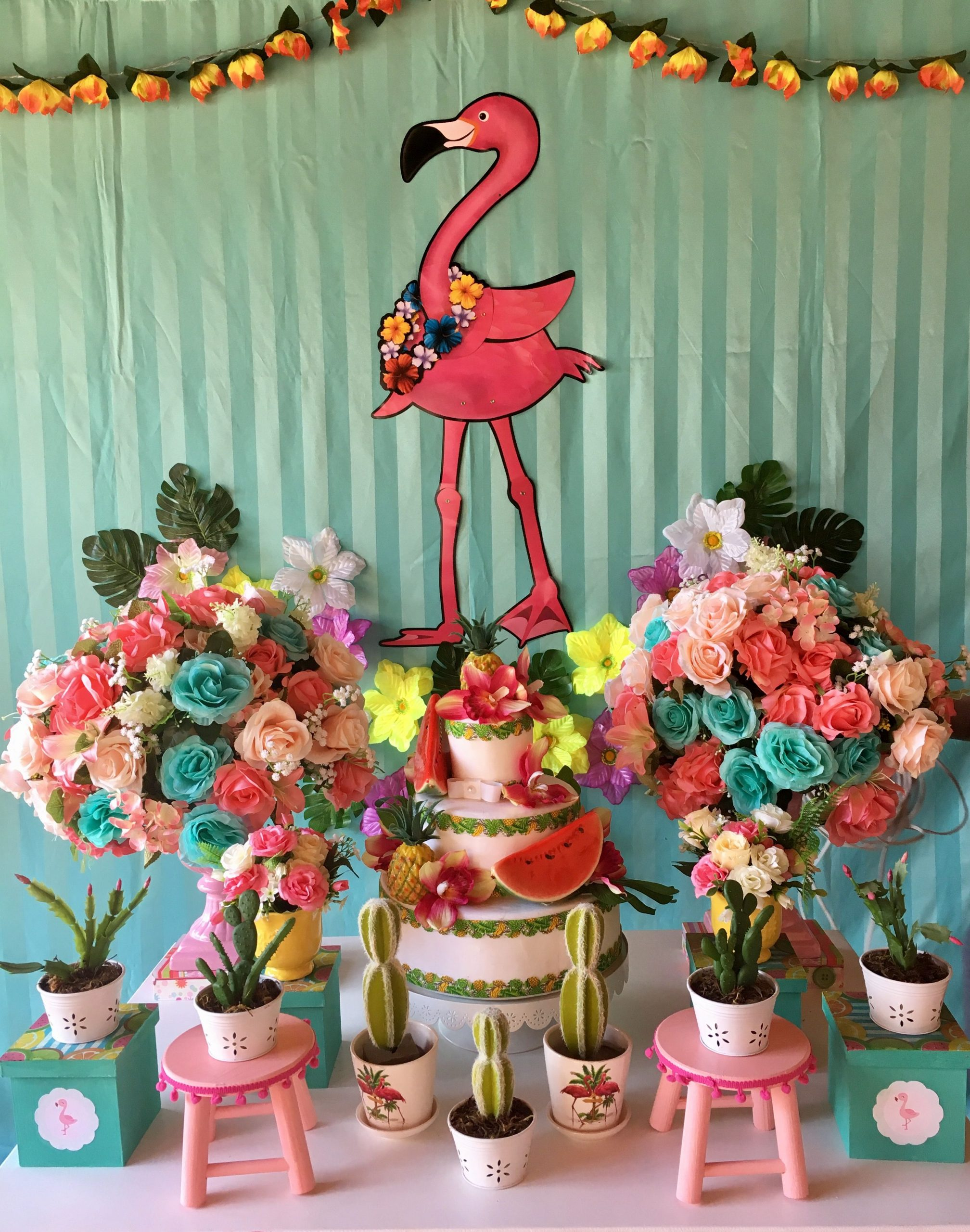 Festa pool party Flamingo