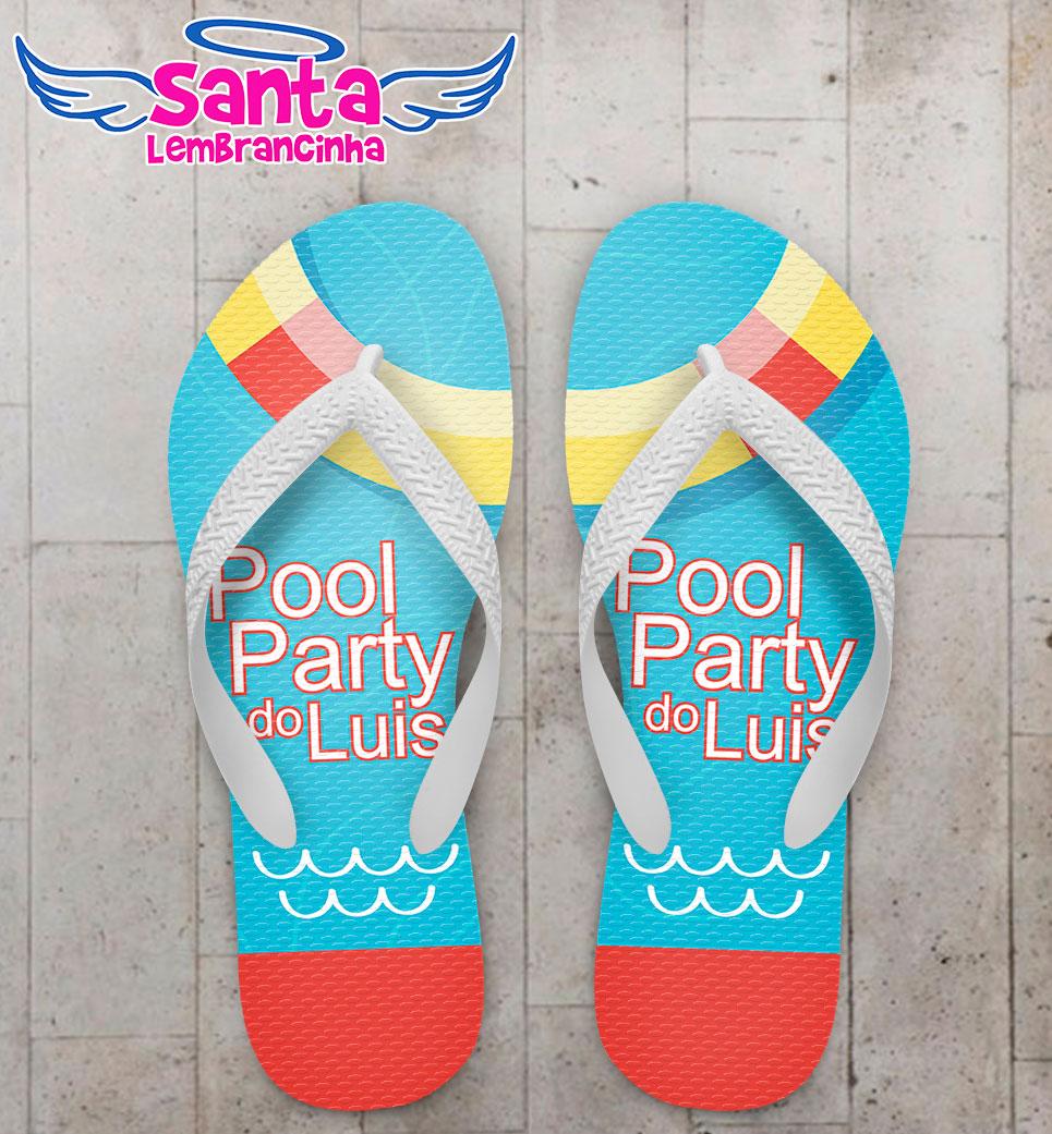 Festa pool party Lembrancinhas