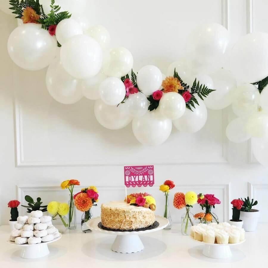 Festa Surpresa Simples Para mãe