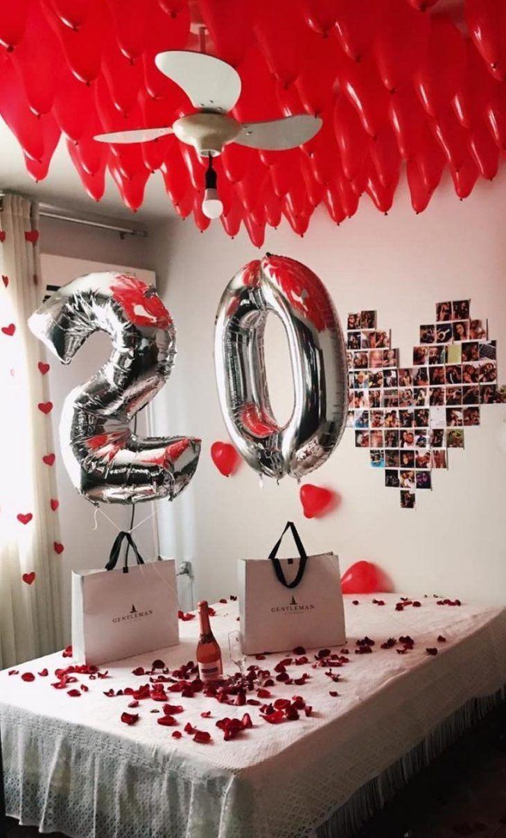 Festa Surpresa Simples Para namorado