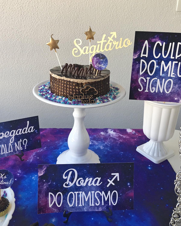 bolo do signo De Sagitário