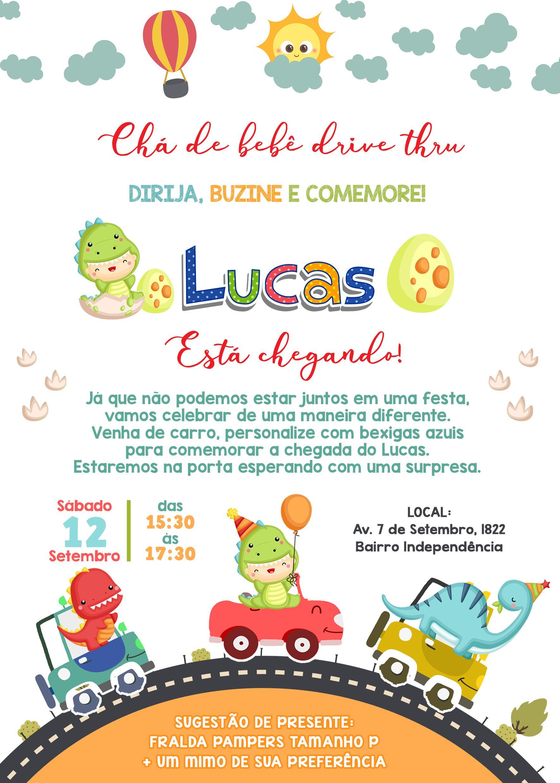 Convite charreata De bebê